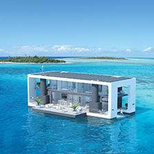 Thatu0027s The Dream Florida Based Company Arkup Promises With Its Off Grid  Luxury Floating House. The Cutting Edge Home, Which Is Still Just A  Concept, ...
